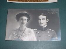 Foto Portraitkarte Prinz Ernst August  und Viktoria Luise Braunschweig ca. 1915