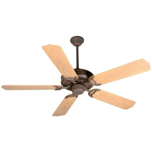 "Craftmade Ceiling Fan Rustic Iron Porch Fan w// 52/"" Blades K10737"