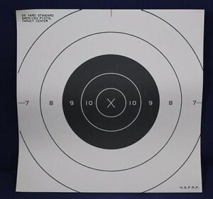 25-Yard-Standard-American-Pistol-Target-Center-50pack-or-10pack-NBPRP