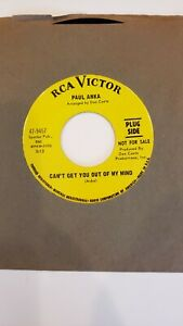 Paul Anka When We Get There Can't Get You Out of My Mind 45 rare Northern Soul -