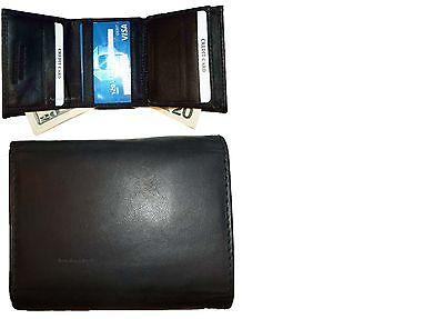 Lot Of 2 Scamosciata Foderato Bill Folds Card Centro Pezzi, Interno, Trifold