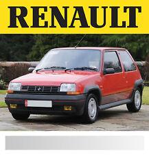 Renault Gt Turbo-Calcomanía Rayas