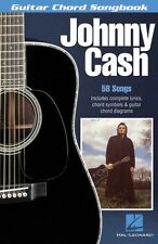 Johnny Cash Sheet Music Guitar Chord Songbook NEW 000699648