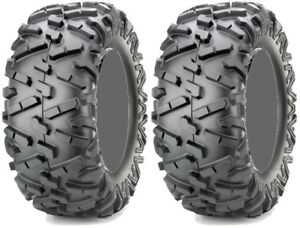 Pair-2-Maxxis-Bighorn-2-0-27x11-14-ATV-Tire-Set-27x11x14-27-11-14
