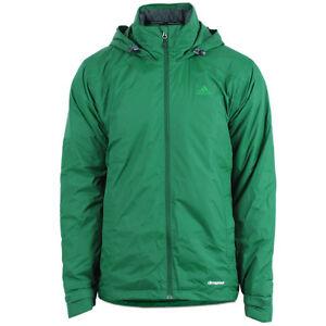 1538a15afca7 Das Bild wird geladen adidas-Herren-Winterjacke-HT-Wandertag-Padded-Jacket -gruen-