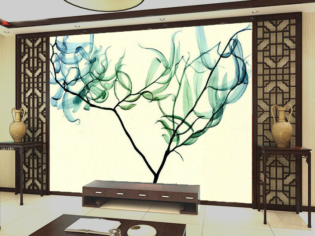 3D Simple Art Tree 72 Wall Paper Murals Wall Print Wall Wallpaper Mural AU Kyra