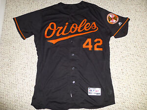 detailed look 0416e 458ee Details about Baltimore Orioles Hyun Soo Kim Autographed, Game-Worn Jackie  Robinson #42 Jersey
