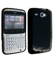 Housse Softygel noire Glossy pour HTC Chacha