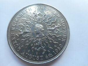1980 Queen Mother Crown Coin commemorating 80th Birthday.