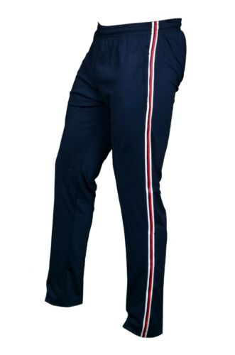 Jogging SEGA Blue Tracksuit Bottoms with red /& white stripes with FREE RETURNS