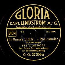 FRITZ & BOBI -Accordeonduett-  In Anna's Stübli.../ 's Herzkäferli       S6361