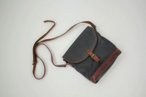 MULBERRY VINTAGE LEATHER CROSS BODY BAG