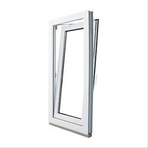 Finestre-in-PVC-con-Anta-amp-Ribalta-Misura-larghezza-600mm-Vetro-con-Argon-Termico