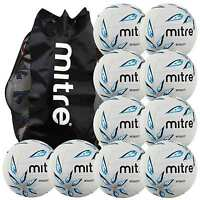 10 X Mitre Intercept Netballs And Carry Bag Sizes 4 Or 5 While Stocks Last