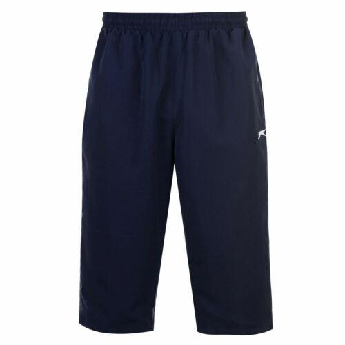 Pantalones De Deporte Slazenger Tres Cuartos Capri Pantalones Cortos Para Hombre Pantalones Gimnasio Fitness Sportswear Casasohiggins Cl