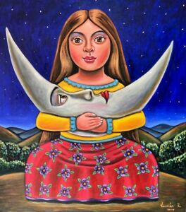 Beautiful-Mexican-Painting-German-Rubio-girl-of-the-moon