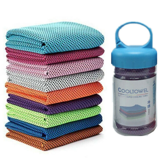 15x Instant Cooling Towel ICE Cold Cycling Jogging Gym Sports Outdoor Chilly
