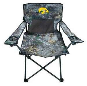 Magnificent Details About University Of Iowa Hawkeyes Realtree Camo Chair Tailgate Camping Beatyapartments Chair Design Images Beatyapartmentscom