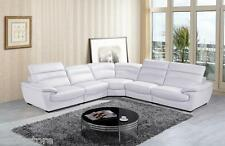 Free Shipping 8469 Modern White Leather Sectional Sofa For Living Room Furniture