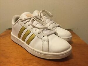 Details about ADIDAS Neo Cloudfoam Advantage Stripe Women's shoes White CG5884 size 7