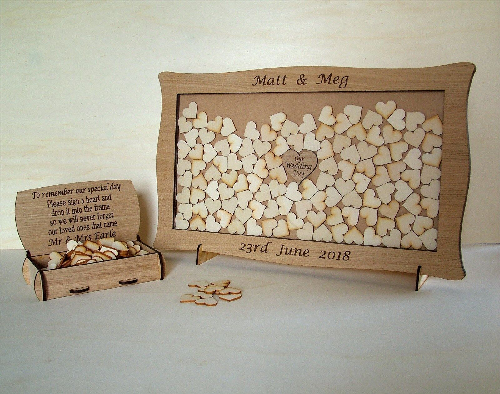 Wedding Anniversary Personalised Alternative Drop Box All Occasions  j1i