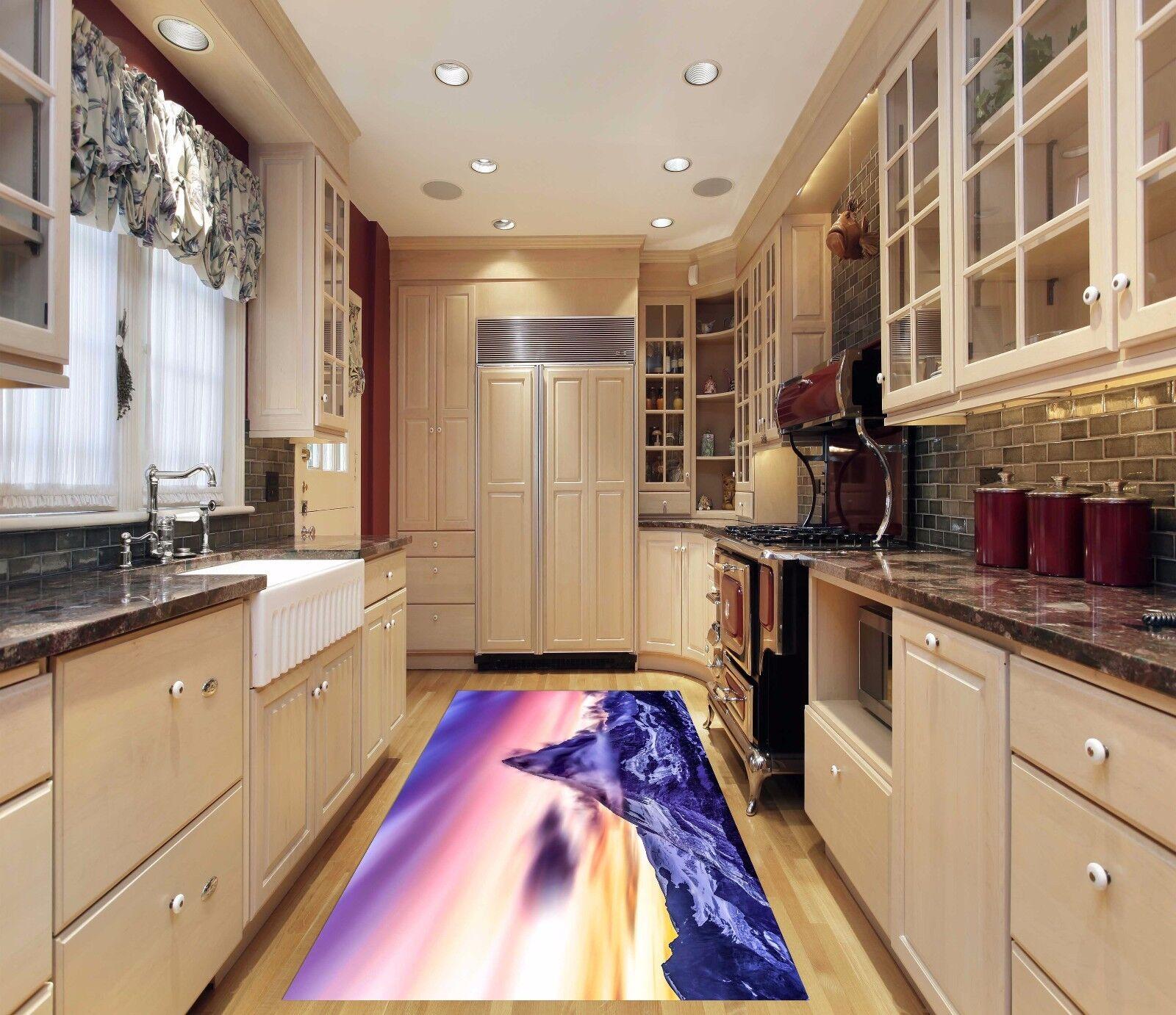 3D Sky Mountain 72 Kitchen Mat Floor Murals Wall Print Wall AJ WALLPAPER UK Kyra