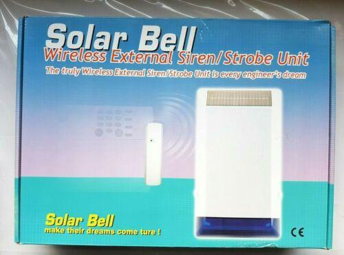 LYNTECK LY52-050-43 External Solar Powered Bell Box Siren Strobe Unit