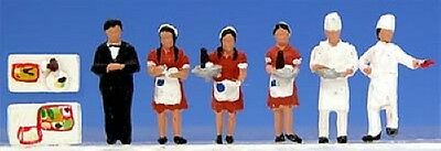 """Kato 24-261 Model People """"Dining car crew"""" (N scale)"""