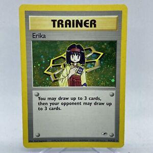 Erika-Trainer-16-132-Holo-Foil-Rare-Gym-Heroes-WOTC-Pokemon-Card-NM-G26