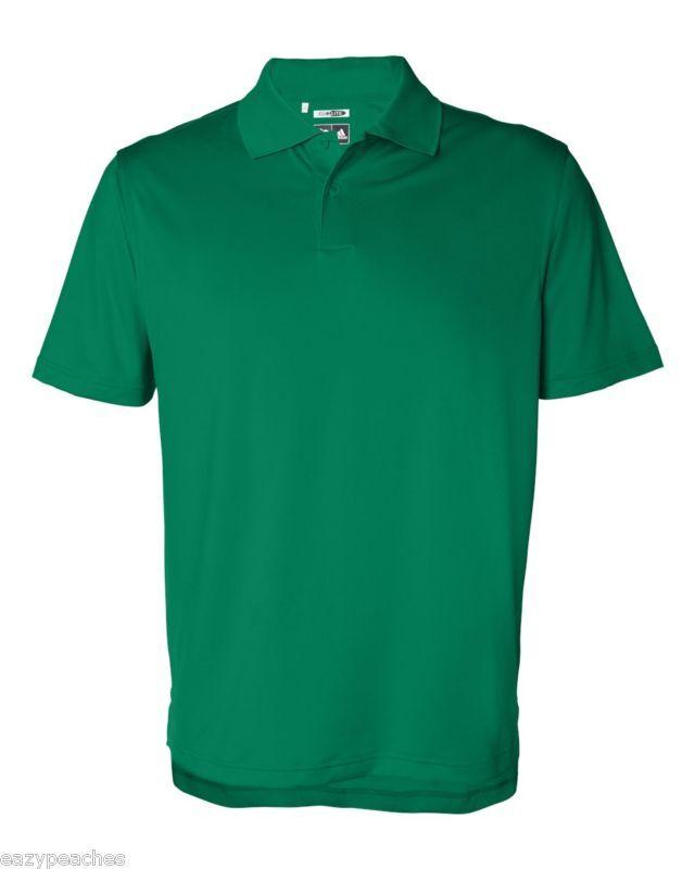 ADIDAS GOLF Férfi méret S-XL 2XL 3XL ClimaLite CoolMax Tech Polo Sport  Shirt A55 7047c4d99c