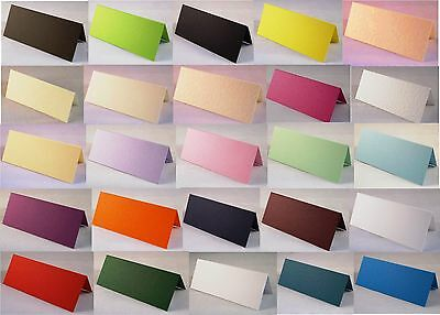 100 Blank Table Name Place Cards, Many Colours - Christmas, Partys, Wedding