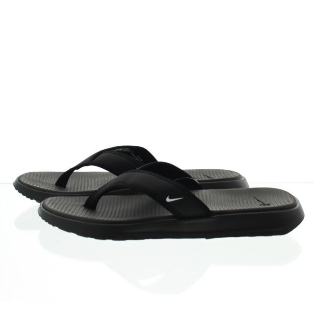6946811f9b03d Nike 882691 Mens Ultra Celso Casual Lightweight Sandals Thongs Flip Flops  Black