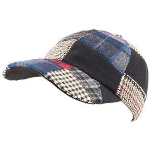 b032b8fc25d ... Cappello-Da-Baseball-Cappello-Hawkins-In-Tweed-Patchwork-