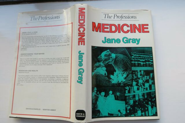 The Professions Medicine Jane Gray 1974 1st Edition