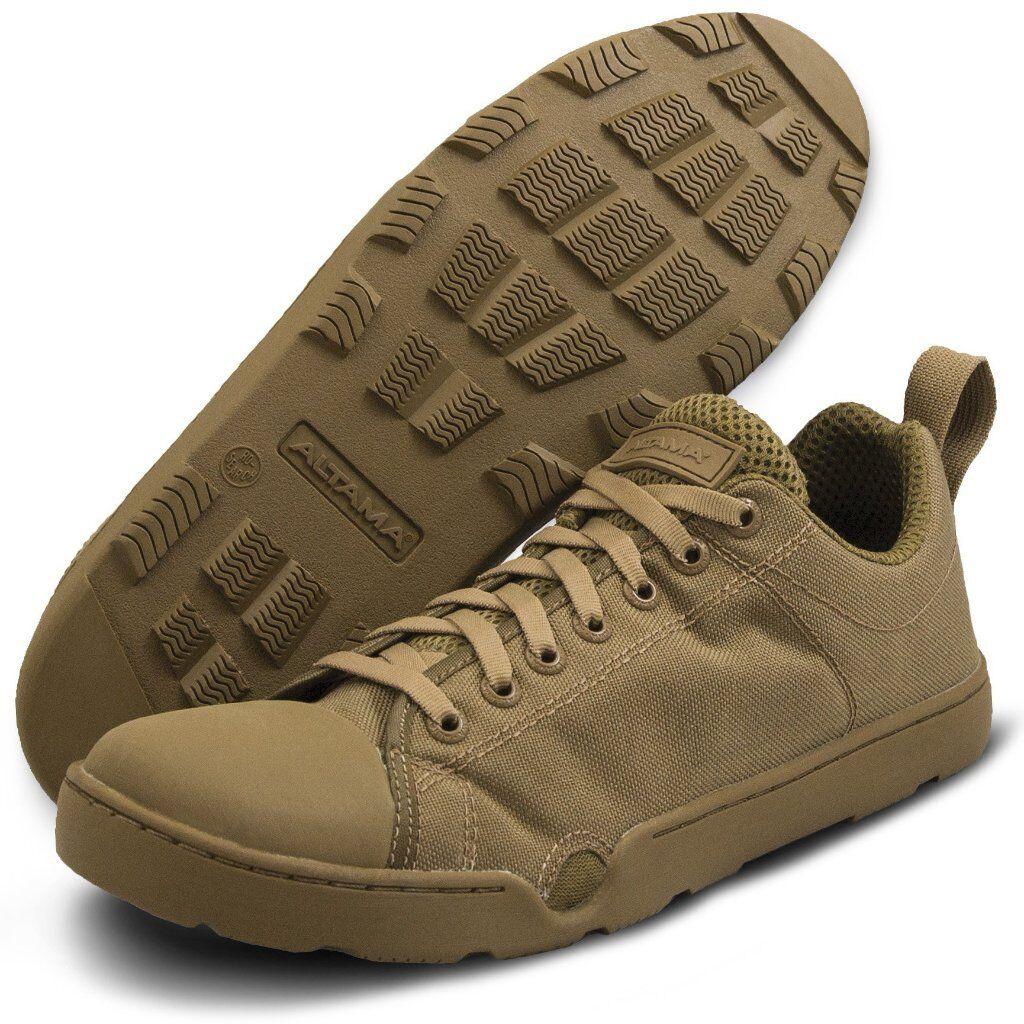Zapato de asalto Altama Maritime fuerzas especiales bajo Coyote marrón