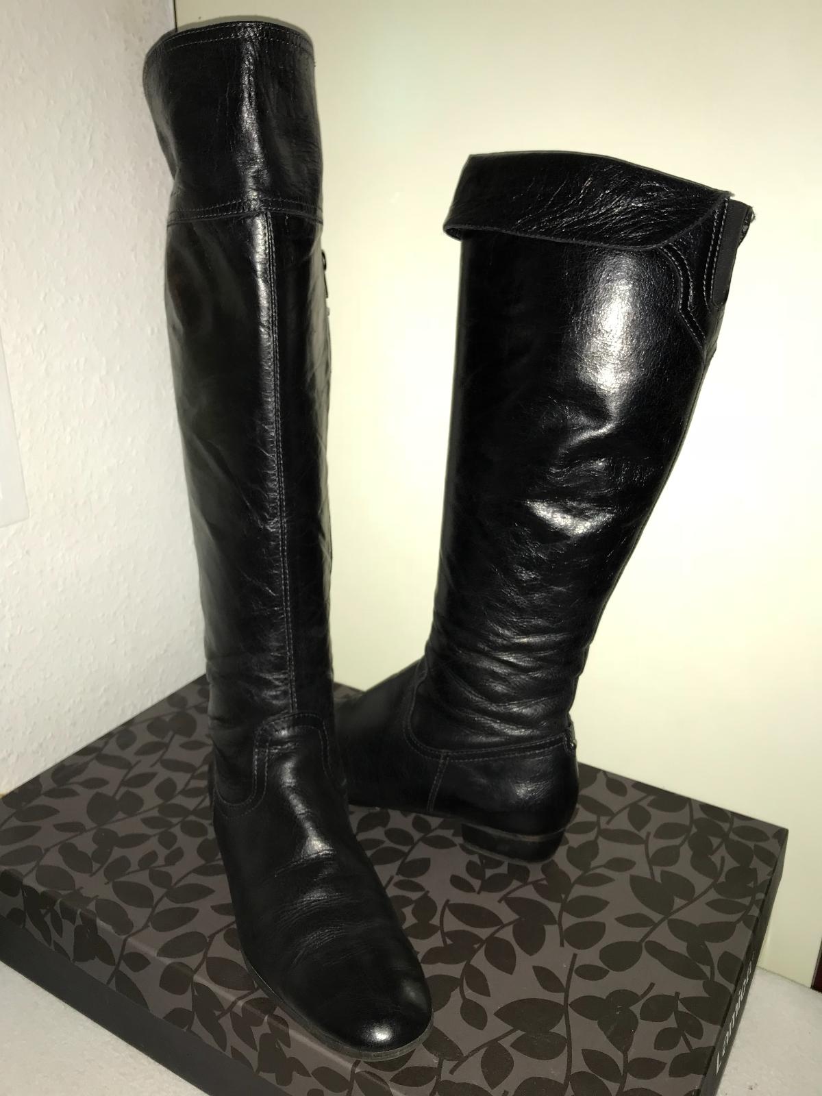 Overknee Stiefel variabel Lamica, Gr. 41 italienisches Design, schwarz