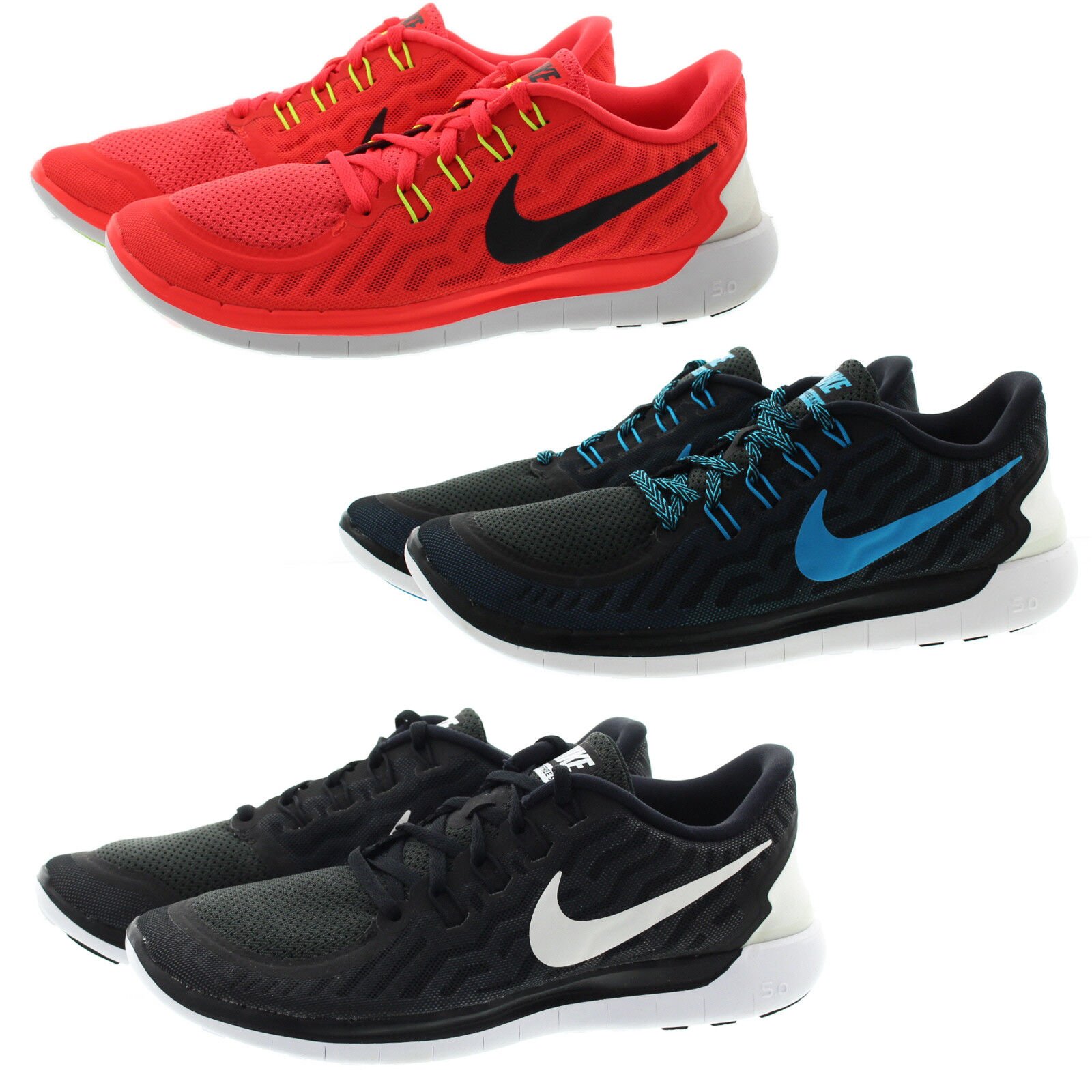 Nike 724382 Mens Free 5.0 Low Top Running Training Athletic shoes Sneakers