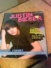 The Justin Bieber Story (Hardcover, 2010) Book ONLY