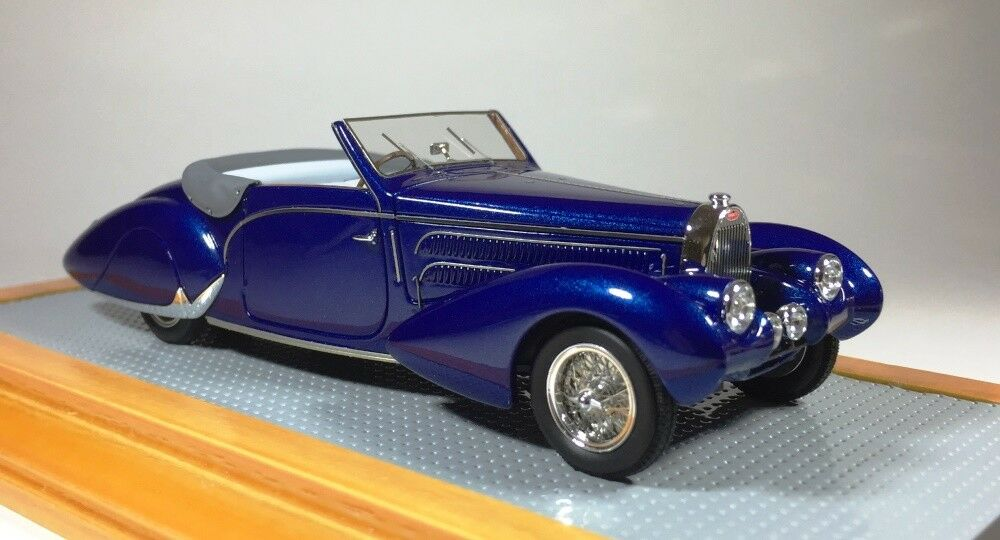 ILARIO 43109 - Bugatti T57C Aravis Gangloff 1938 sn57710 Original Car  1 43