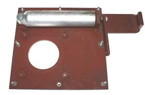 Montageplatte Grundplatte Anschraubplatte 154x58x14 pf.Außenspiegel Bus