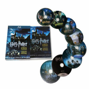 Harry-Potter-Complete-1-8-Movie-DVD-Collection-Films-Box-Set-As-Xmas-Gifts-UK
