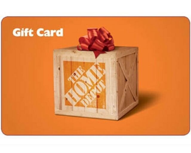 $50 Home Depot Gift Card - FAST SHIPPING