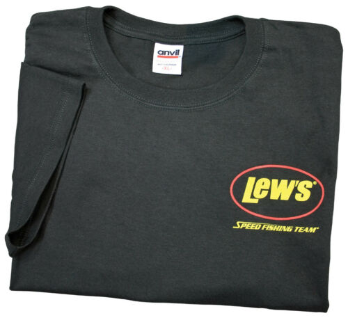 Lew/'s Black Small Short Sleeve T-Shirt FREE US Shipping