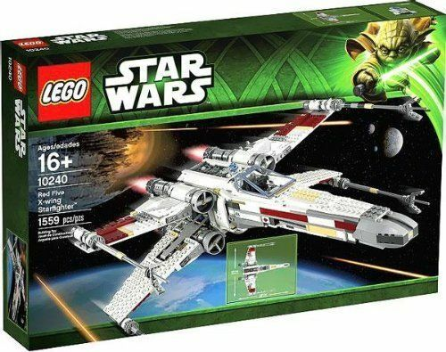 LEGO Star Wars Red Five X-wing Starfighter (10240) Retired