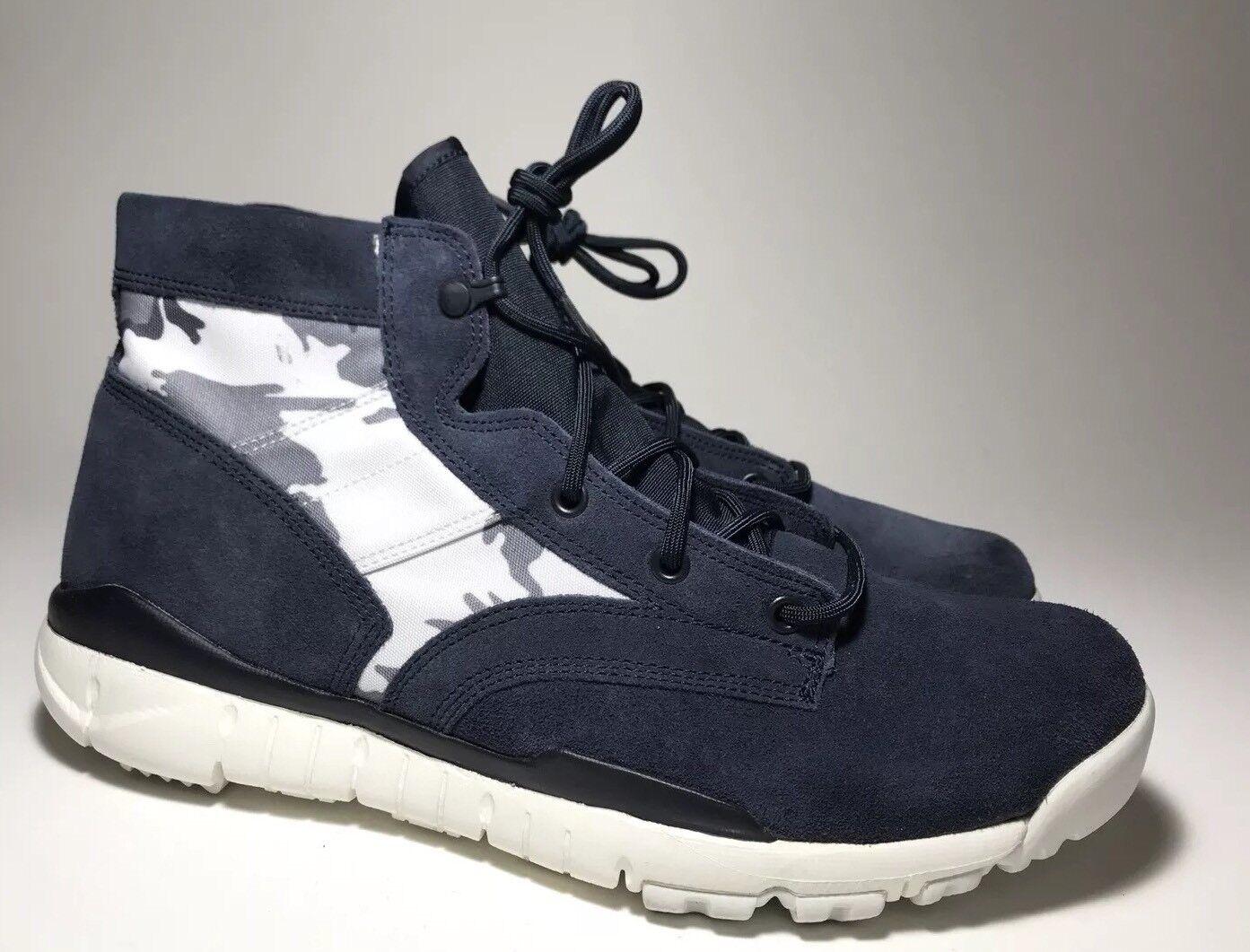 "SAMPLE Nike SFB Chukka US AFE ""Snow Camo"" Suede US Chukka 12 [438723-400] 14675e"
