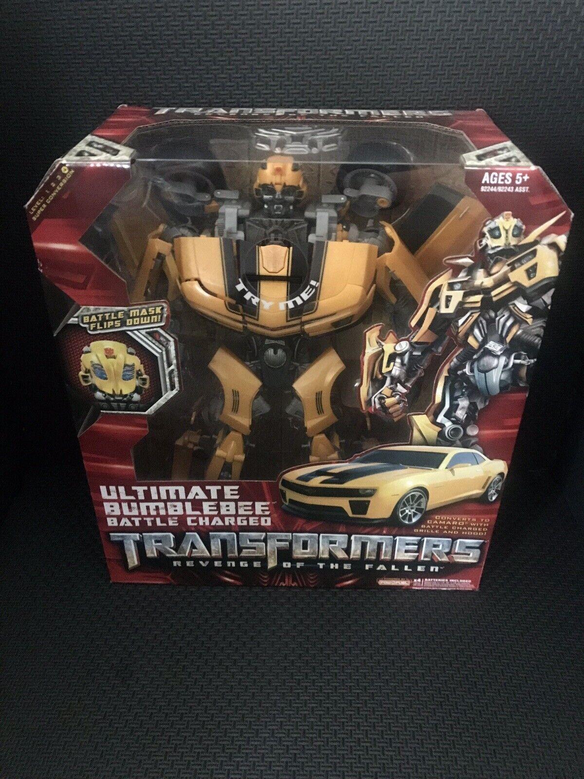Transformers Bumblebee Batalla Final Cochegado Nuevo la venganza de los Caídos