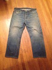 Double X Vtg Paper Tag Hidden Rivets Guaranteed  Levis 501 Xx Jeans 501s usa 39