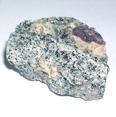 RUBIN in Matrix Stufe ~*~ Rohstein ca. 56mm Kristall aus Mysore - Indien 05