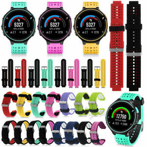 POUR-GARMIN-Forerunner-230-235-630-735XT-Silicone-Remplacement-Bracelet-Watch-Band