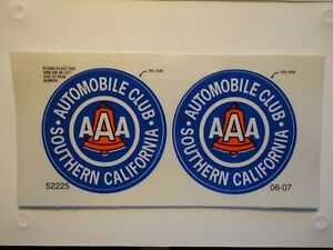 Image Is Loading Brand New Aaa Automobile Club Sticker Decal Southern